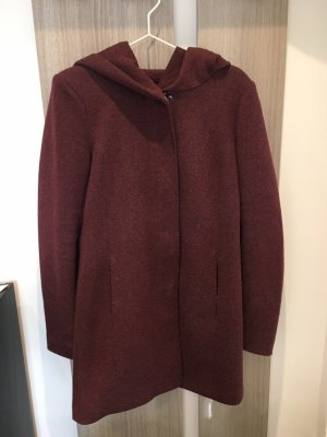 Only Hooded Coat purple