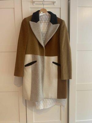 Max & Co. Cappotto in lana multicolore Lana d'alpaca
