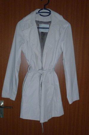 Klassischer Mantel creme Gr. 36 S Zara Sommermantel