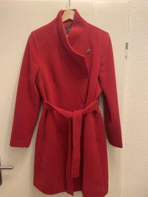 Klassischer Mantel Montego, rot