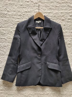 Klassischer Navy Blazer Jacke Anzugjacke dunkelblau Kostüm Office style