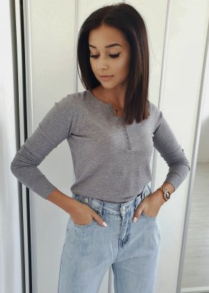Knitted Sweater grey