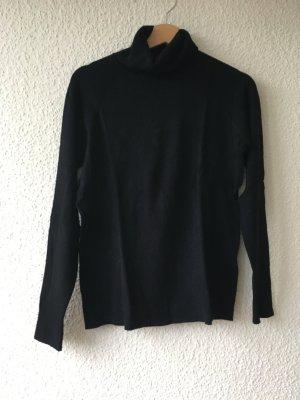 s.Oliver Turtleneck Sweater dark brown viscose