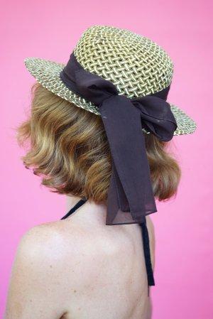 Vintage Sun Hat light brown-brown