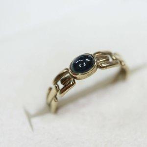 Vintage Gouden ring veelkleurig
