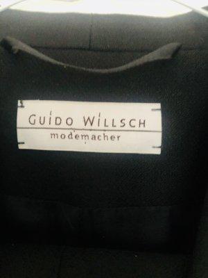 Guido Willsch Modemacher Costume business noir laine
