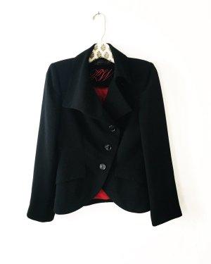 klassischer schwarzer blazer / vintage / zara / businesslook / blackfashion