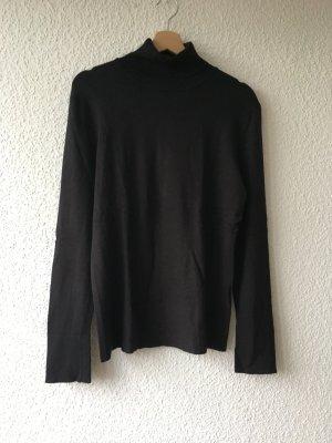 WE Turtleneck Sweater black viscose