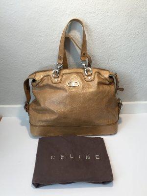 Klassischer Shopper von Celine - glänzend creme