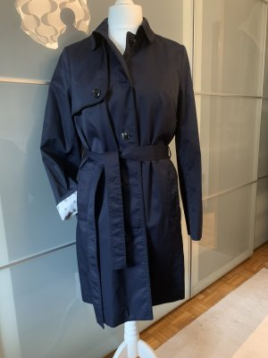 H&M Trench blu scuro