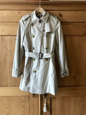 Burberry Trench Coat oatmeal cotton