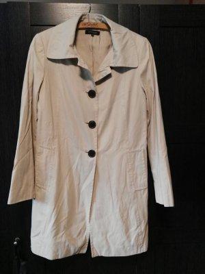 Klassischer Trenchcoat in beige Gr. 40