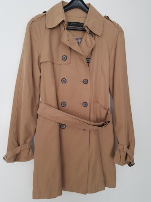 Zara Woman Trench Coat camel