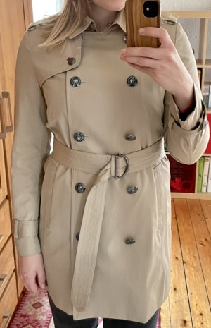 Tommy Hilfiger Trench Coat oatmeal cotton