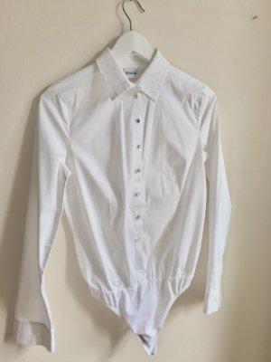 Klassischer weißer Blusenbody von Wolford