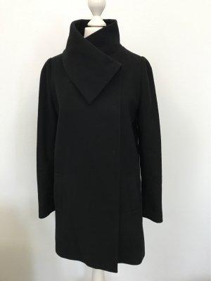Benetton Manteau en laine noir