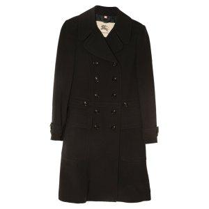 Burberry Manteau en laine noir laine