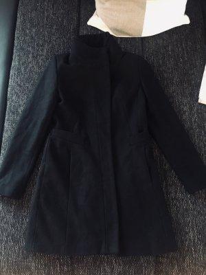 Zara Cappotto in lana nero Lana