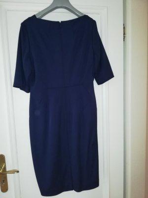 Klassisches blaues Business Kleid LK Bennett Gr 42