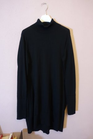 COS Wollen jurk zwart Wol