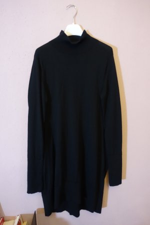 COS Woolen Dress black wool