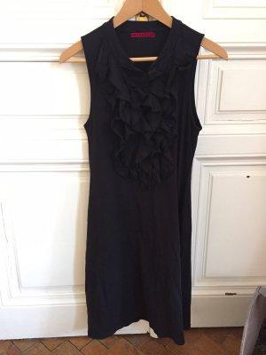 Velvet Vestido elástico negro