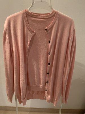 Twin set in maglia rosa chiaro-rosa pallido Lana