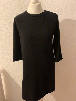 Zara Trafaluc Swetrowa sukienka czarny