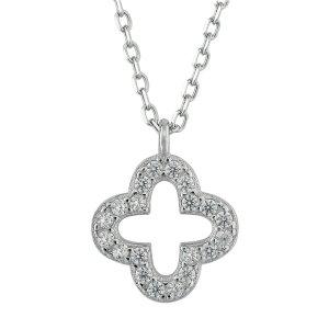 Collar estilo collier blanco-color plata