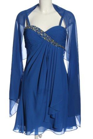 KLEEMEIER Minikleid blau Elegant