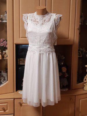 Made in Italy Ball Dress white