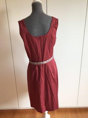 Caroll Sukienka na ramiączkach rudy