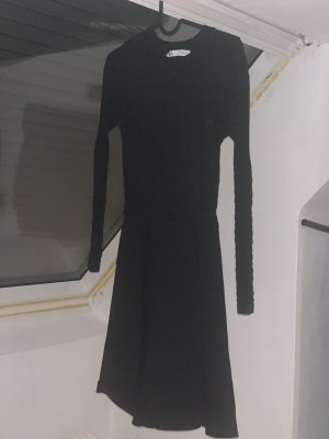 Zara Robe en maille tricotées noir