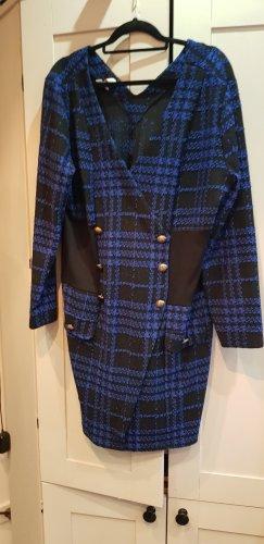 BODY FLIRT Robe en maille tricotées bleu