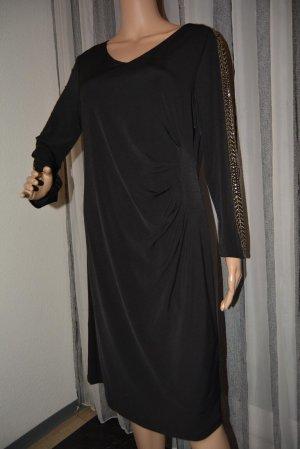 Amy Vermont Robe en jersey noir