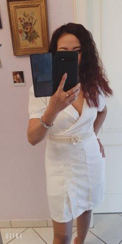 Fashion Style Sweat Dress white