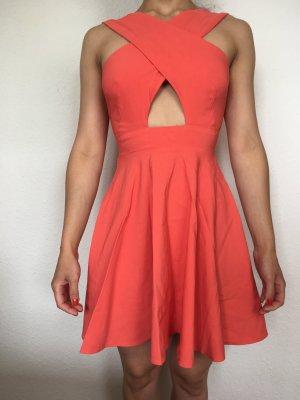 Asos Petite Cocktail Dress apricot