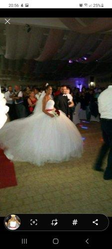 -8- Venice Robe de mariée blanc