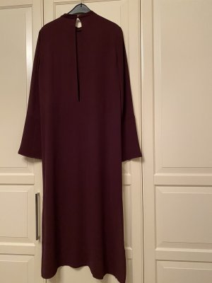 H&M Chiffon Dress bordeaux