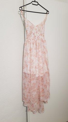 Tally Weijl Sukienka plażowa w kolorze białej wełny-stary róż