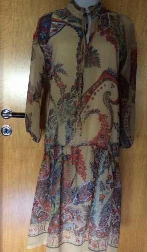 Reserved Chiffon Dress multicolored polyester