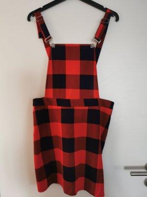 Overgooier overall rok rood