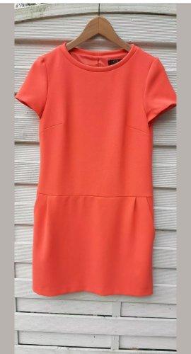 1.2.3 Paris Shortsleeve Dress neon orange