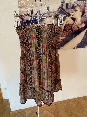 Kleid 100% Cotton, Boho, bohiam, mit Knöpfen