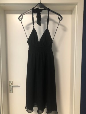 Colours of the World Halter Dress black