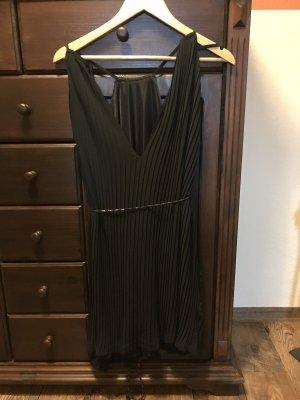 H&M Vestido de cuello Halter negro