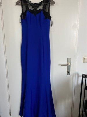 Robe de bal bleu foncé-noir
