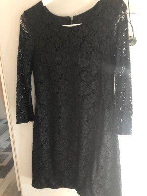Ann Christine Kanten jurk zwart