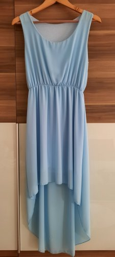 Unbekannte Marke Robe bas asymétrique bleu clair