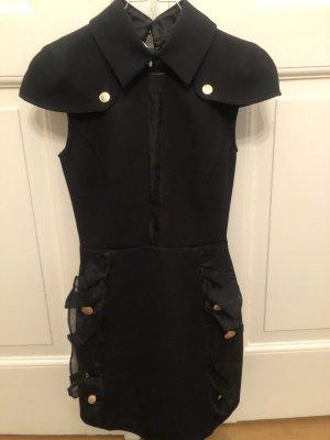 Elisabetta Franchi Balloon Dress black